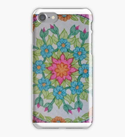 Mandala Bright and Colorful iPhone Case/Skin