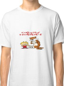calvin and hobbes bad Classic T-Shirt
