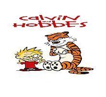 calvin and hobbes bad Photographic Print