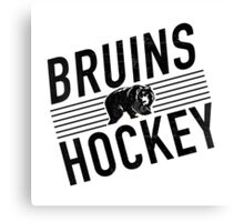 Bruins Hockey Canvas Print