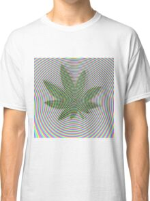 Trippy Colors White Classic T-Shirt
