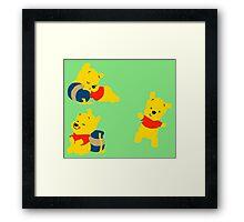 Winnie Bear  Framed Print