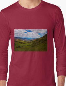 Giron Valley View From Portete, Ecuador Long Sleeve T-Shirt