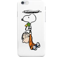 1snoopy flys iPhone Case/Skin