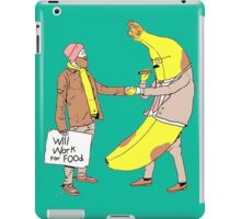 Will Work For Food iPad Case/Skin