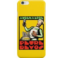 1930s Audenaerde Petre-Devos Belgian Beer advert retro style iPhone Case/Skin