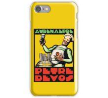 1930s Audenaerde Petre-Devos Belgian Beer advert retro style iPhone Case/Skin