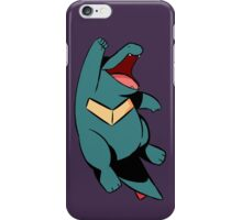 Happy Totodile iPhone Case/Skin
