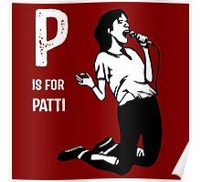 P Is For Patti Poster