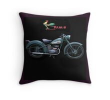 BSA Bantam ,  pillow and tote bag  Throw Pillow