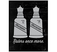 Rulers Once More Photographic Print