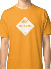 HAZMAT Class 1: Explosives Classic T-Shirt