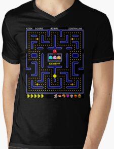Pac-Man Mens V-Neck T-Shirt