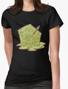 Gelatinous Cube Womens Fitted T-Shirt
