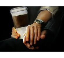coffee and comfort Photographic Print
