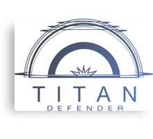 Titan Defender Canvas Print