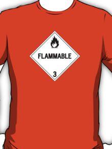 HAZMAT Class 3: Flammable T-Shirt