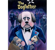 The Dogfather Photographic Print