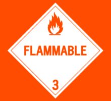 HAZMAT Class 3: Flammable by Ruben Wills