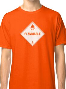 HAZMAT Class 3: Flammable Classic T-Shirt