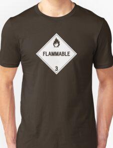 HAZMAT Class 3: Flammable Unisex T-Shirt
