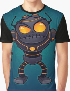 Angry Robot Graphic T-Shirt