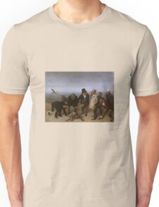 William Holbrook Beard - The Discovery Of Adam. animals portrait: party, animals, beasts, monkey, turtle, bird, costume, hat,  Discovery ,  Adam, fantasy Unisex T-Shirt