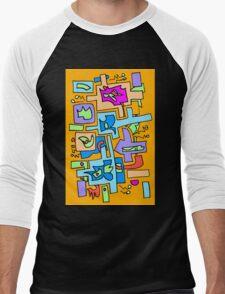 Hip to be square Men's Baseball ¾ T-Shirt