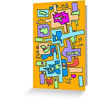 Hip to be square Greeting Card