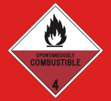 HAZMAT 4.2 Spontaneously Combustible by Ruben Wills