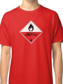 HAZMAT 4.2 Spontaneously Combustible Classic T-Shirt