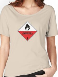 HAZMAT 4.2 Spontaneously Combustible Women's Relaxed Fit T-Shirt