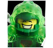 Lego Aaron minifigure Poster