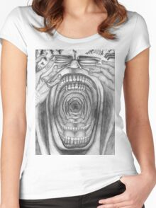 Scream-Ception II  Women's Fitted Scoop T-Shirt