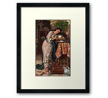 William Holman Hunt - Isabella And The Pot Of Basil 1867 Framed Print