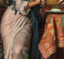 William Holman Hunt - Isabella And The Pot Of Basil 1867 Sticker