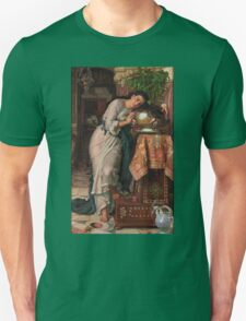 William Holman Hunt - Isabella And The Pot Of Basil 1867 Unisex T-Shirt