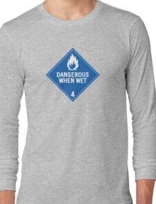 HAZMAT 4.3 Dangerous when Wet Long Sleeve T-Shirt