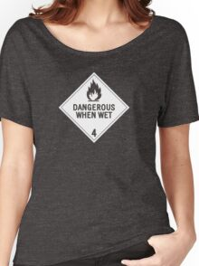 HAZMAT 4.3 Dangerous when Wet Women's Relaxed Fit T-Shirt
