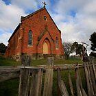 Sacred Heart Catholic church, Hill End, by Ian Ramsay