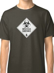 HAZMAT Class 6.2: Biohazard Classic T-Shirt