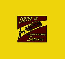 Drive in for courteous service (yellow) by G3no