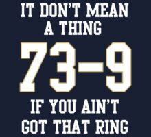73-9 Dont Mean A Thing If You Aint Got That Ring  One Piece - Long Sleeve