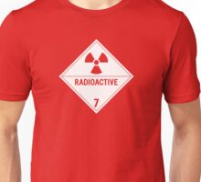 HAZMAT Class 7: Radioactive Unisex T-Shirt