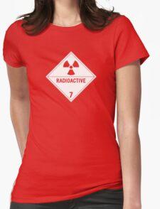 HAZMAT Class 7: Radioactive Womens Fitted T-Shirt