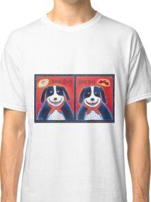 Good Dog-Bad Dog Classic T-Shirt