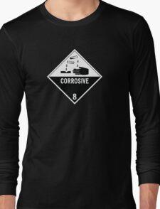 HAZMAT Class 8: Corrosive Long Sleeve T-Shirt