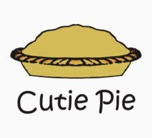 Cutie Pie - Words with Pie Cartoon Kids Clothes