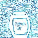 Gratitude Jar by Sammy Nuttall