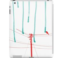 Wire Wire Telephone iPad Case/Skin